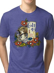 Jeff Spicoli's Original Colt 45 - HD Colt Tri-blend T-Shirt