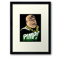 PIMP JOHNSON Framed Print