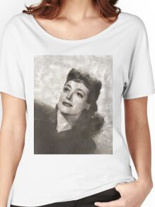 Joan Crawford Hollywood Actress Women's Relaxed Fit T-Shirt