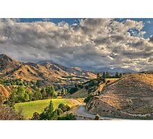 Awatere Valley, Marlborough Photographic Print