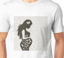 Pregnant girl4 Unisex T-Shirt