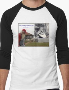 Protecting our Indian river then now always Men's Baseball ¾ T-Shirt
