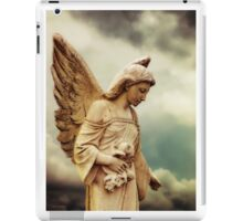 Guardian Angel in the Clouds iPad Case/Skin
