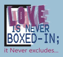 LOVE never excludes... Kids Clothes