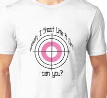 I Shoot Like A Girl Unisex T-Shirt