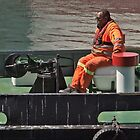 Work on a tugboat by awefaul