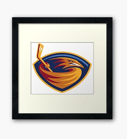National Hockey League - Atlanta Thrashers Framed Print
