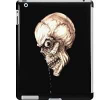 CREEPY SKULL TRANSPARENT iPad Case/Skin