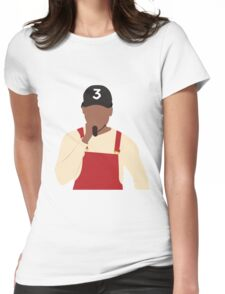 Chance the Rapper - SNL Performance Womens Fitted T-Shirt