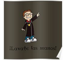 Lavate Las Manos Poster