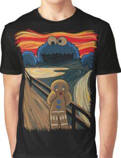 Cookie Monster Scream Graphic T-Shirt