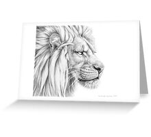 Lion G006 by schukina Greeting Card