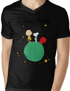 Little Prince Mens V-Neck T-Shirt