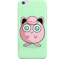 Adorable Green-Eyed Jigglypuff iPhone Case/Skin