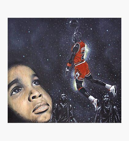 Michael Jordan Dreams Photographic Print