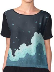Snowall Galaxy Chiffon Top