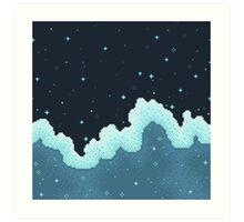 Snowall Galaxy Art Print