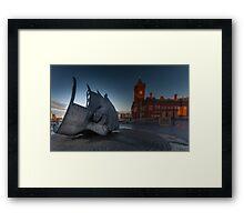 War Memorial Cardiff Bay Framed Print