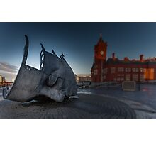 War Memorial Cardiff Bay Photographic Print