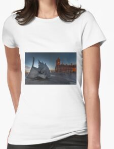War Memorial Cardiff Bay Womens Fitted T-Shirt