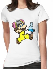 Breaking Bad Super Mario Womens Fitted T-Shirt