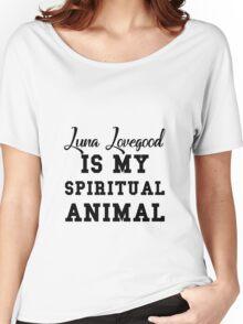 luna lovegood is my spiritual animal Women's Relaxed Fit T-Shirt