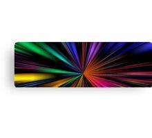 Warp Speed Panorama Canvas Print