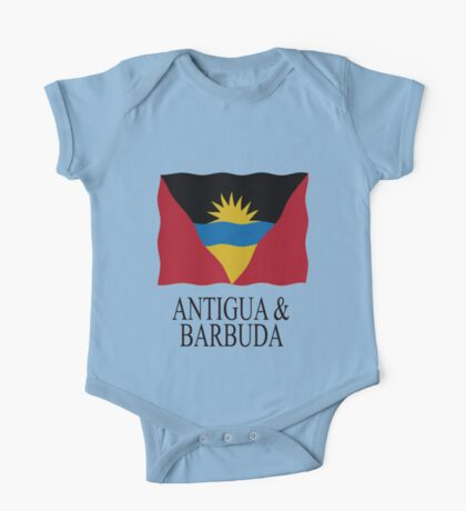 Flag Antigua and Barbuda One Piece - Short Sleeve
