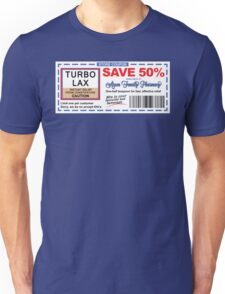 DUMB AND DUMBER TurboLax Coupon Unisex T-Shirt