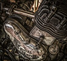 Royal enfield bike by Dobromir Dobrinov