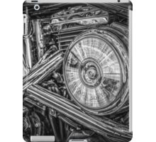Motor bike detail iPad Case/Skin