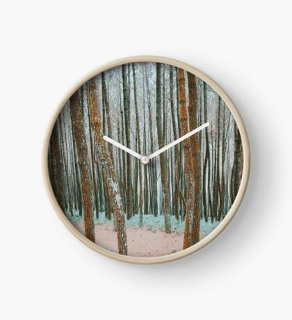 A Morning in the Forest Clock