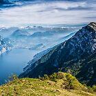Garda Lake by Dobromir Dobrinov