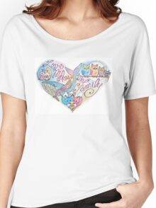 Love Makes a Family Women's Relaxed Fit T-Shirt