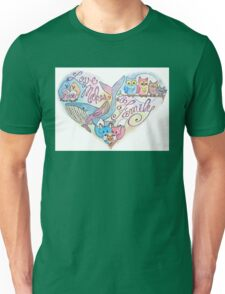 Love Makes a Family Unisex T-Shirt
