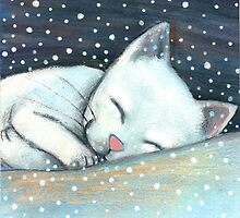 Snow White is sleeping by Lucia Salemi