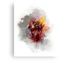 color bleeding heart Canvas Print