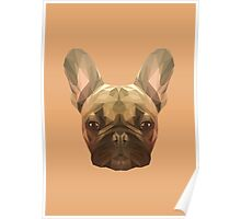 French bulldog. Poster