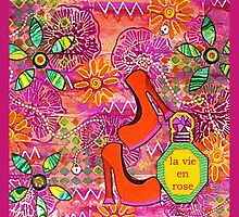 Live Life In Pink by Lisa Frances Judd~QuirkyHappyArt