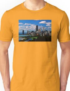 Chicago Oil Painting Unisex T-Shirt