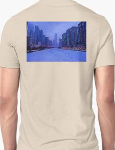 Chicago Oil Painting #2 Unisex T-Shirt