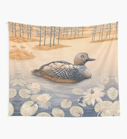 Mother Goose  Wall Tapestry