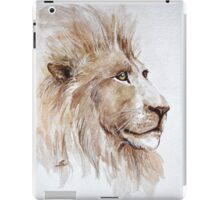 Wise lion iPad Case/Skin