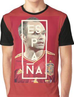 Iniesta - Espana Graphic T-Shirt