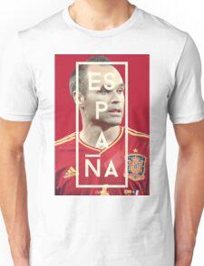 Iniesta - Espana Unisex T-Shirt