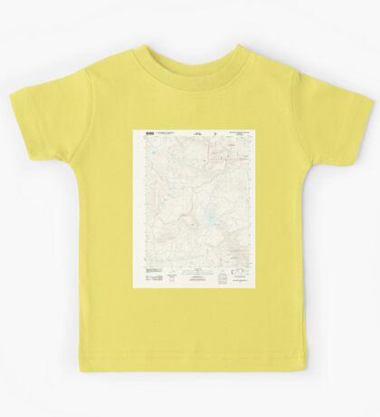 USGS TOPO Map Colorado CO Groundhog Reservoir 20110615 TM Kids Tee