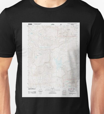 USGS TOPO Map Colorado CO Groundhog Reservoir 20110615 TM Unisex T-Shirt