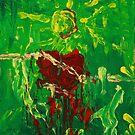 L'uomo sole - The sun man by Kitsune Arts
