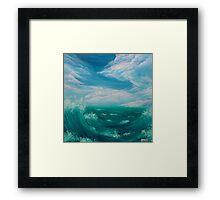 Quello che racconta il mare Framed Print