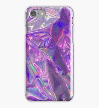 Purple Creased Foil iPhone Case/Skin